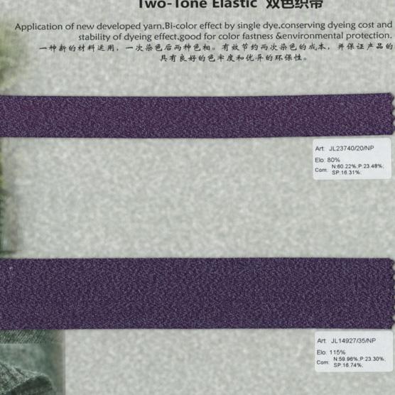 Thun đàn hồi 2 tone màu